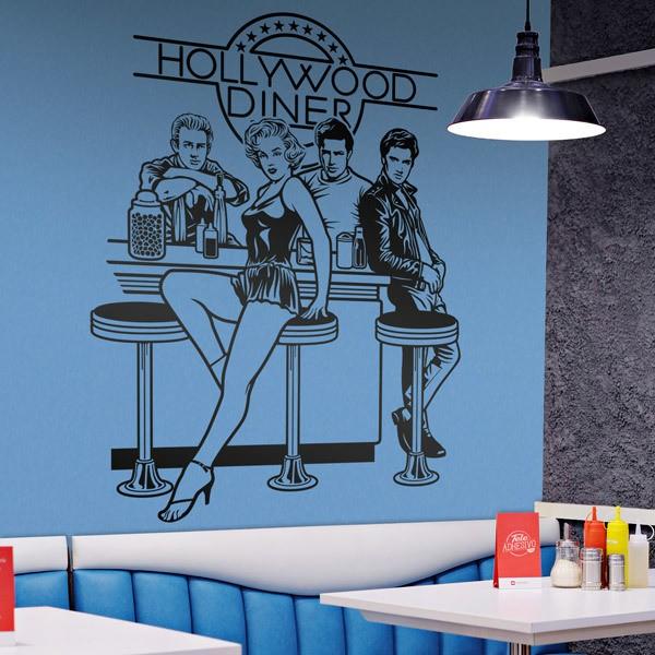 Vinilos Decorativos: Hollywood Diner