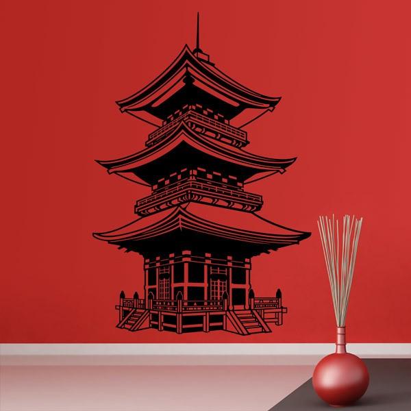 Vinilos Decorativos: Templo Budista de Japón