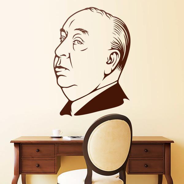 Vinilos Decorativos: Alfred Hitchcock 2