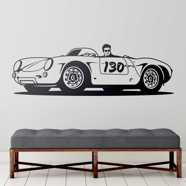 Vinilos Decorativos: Porsche 550 Spyder Little Bastard