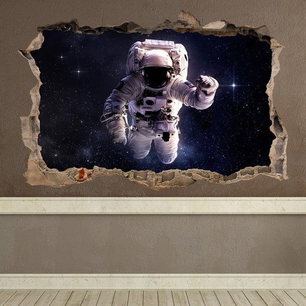 Vinilos Decorativos: Agujero Astronauta