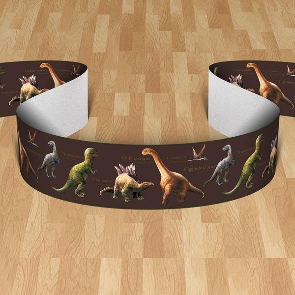Vinilos Infantiles: Cenefa Dinosaurios II
