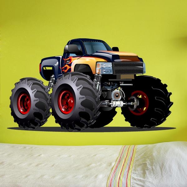 Vinilos Infantiles: Monster Truck 14
