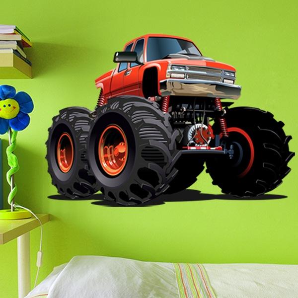 Vinilos Infantiles: Monster Truck 15