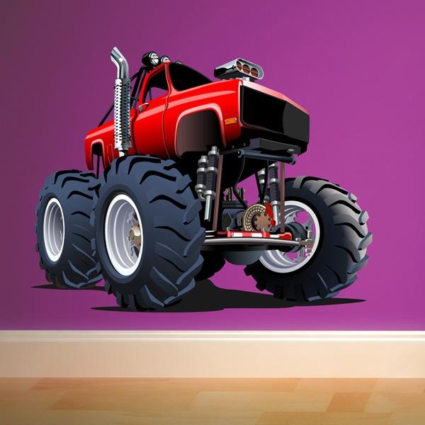 Vinilos Infantiles: Monster Truck 19