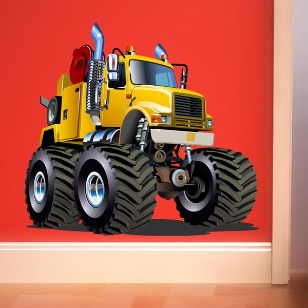Vinilos Infantiles: Monster Truck 20