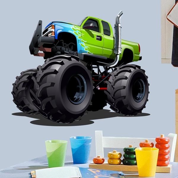 Vinilos Infantiles: Monster Truck 21