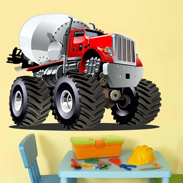 Vinilos Infantiles: Monster Truck 22
