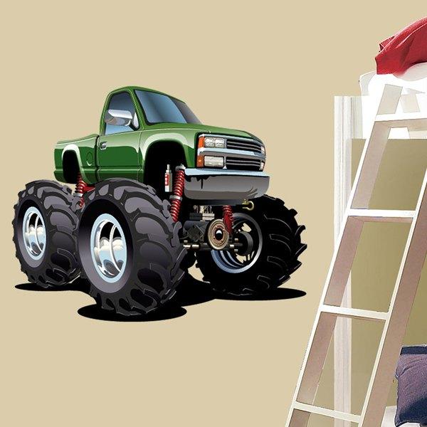 Vinilos Infantiles: Monster Truck 2