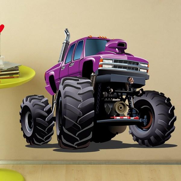 Vinilos Infantiles: Monster Truck 3
