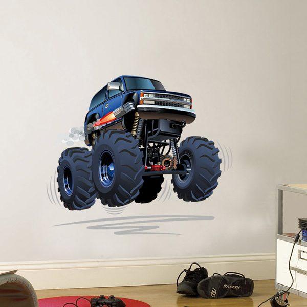 Vinilos Infantiles: Monster Truck 4
