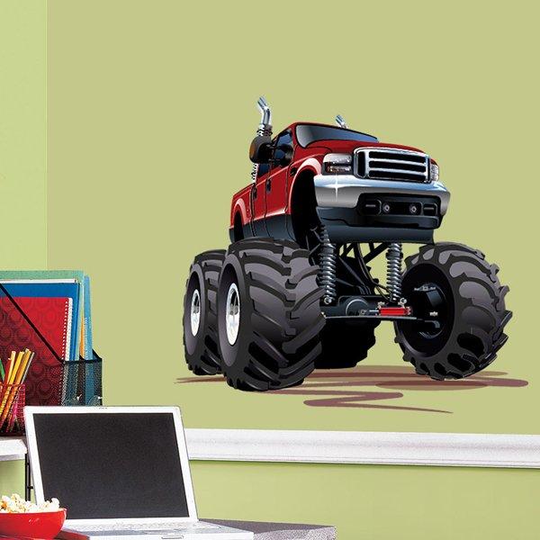 Vinilos Infantiles: Monster Truck 5