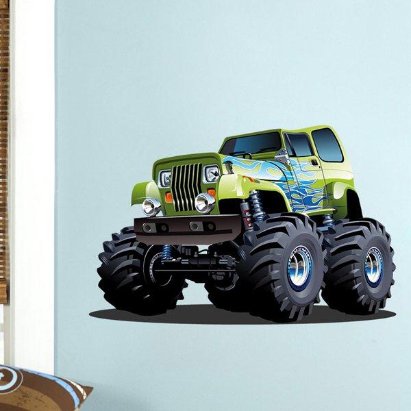 Vinilos Infantiles: Monster Truck 6