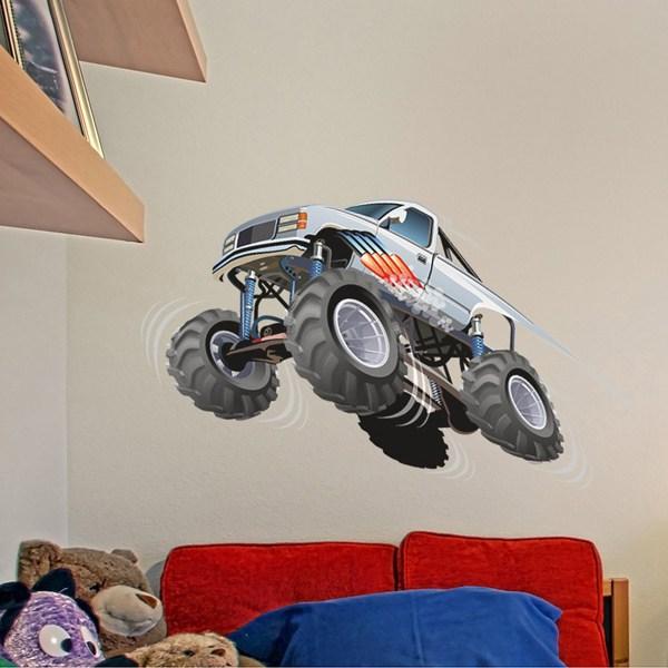 Vinilos Infantiles: Monster Truck 7