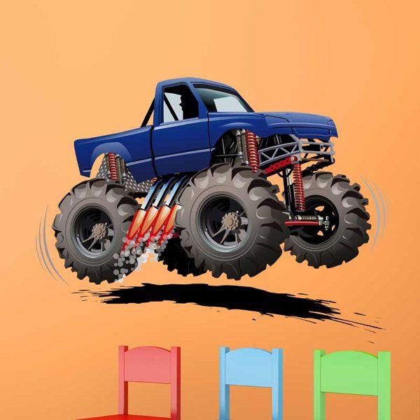Vinilos Infantiles: Monster Truck 8