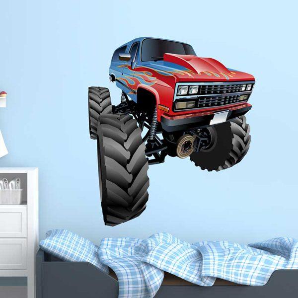 Vinilos Infantiles: Monster Truck 9
