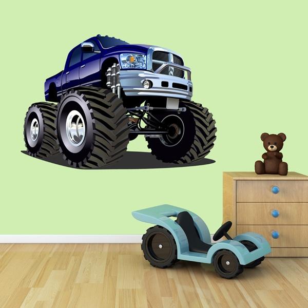 Vinilos Infantiles: Monster Truck 13