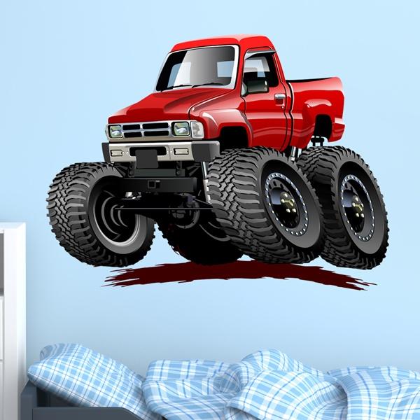 Vinilos Infantiles: Monster Truck 26