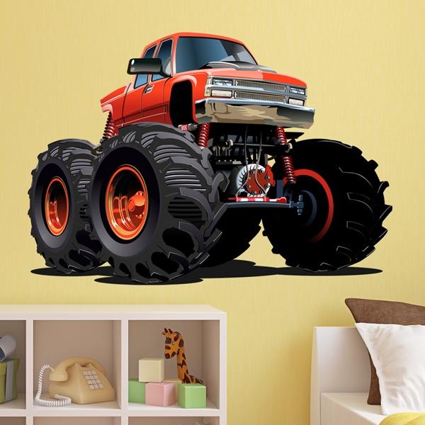 Vinilos Infantiles: Monster Truck 27