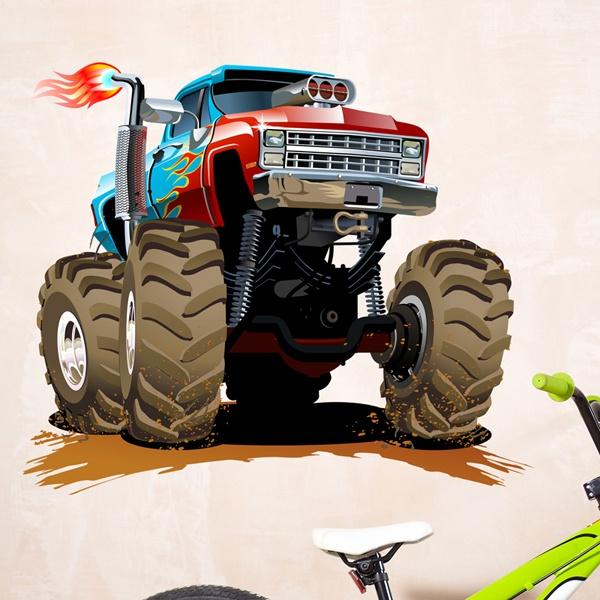 Vinilos Infantiles: Monster Truck 28