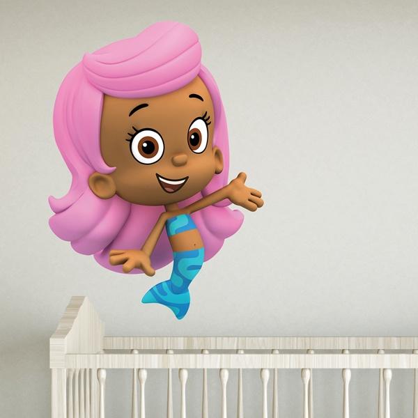 Vinilos Infantiles: Bubble 4