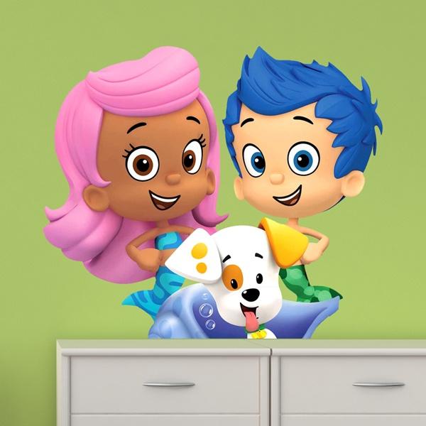 Vinilos Infantiles: Bubble 5
