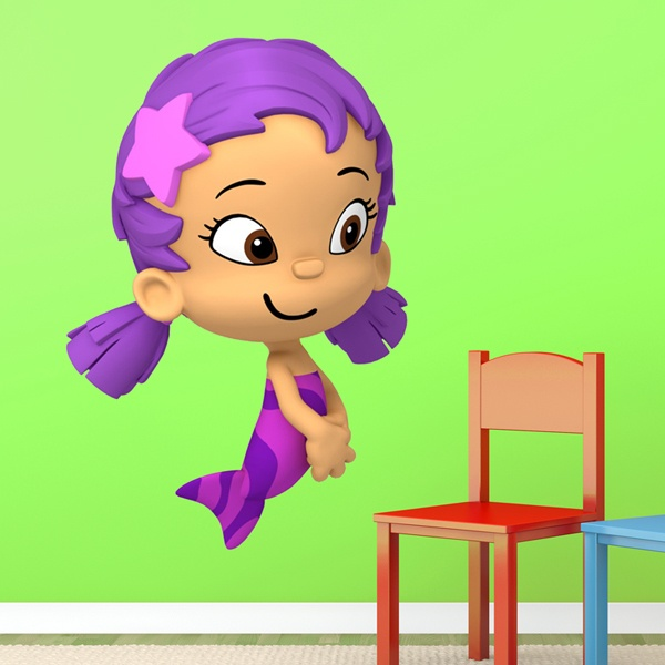 Vinilos Infantiles: Bubble 6