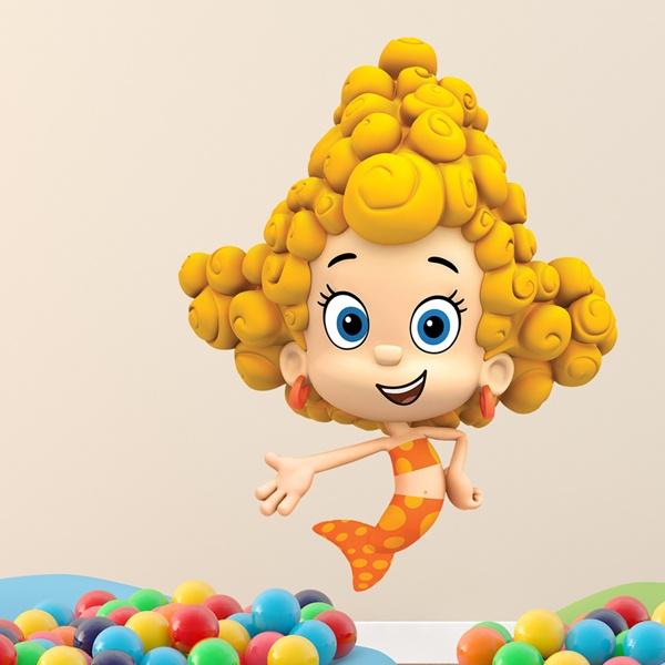 Vinilos Infantiles: Bubble 9