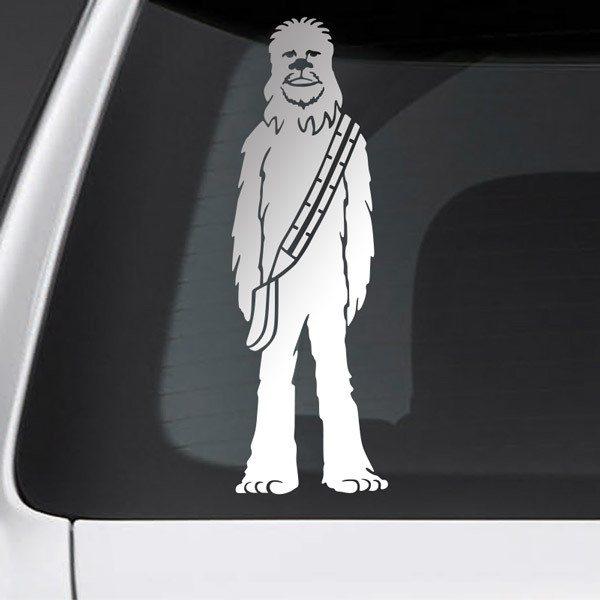 Pegatinas: Padre Chewbacca