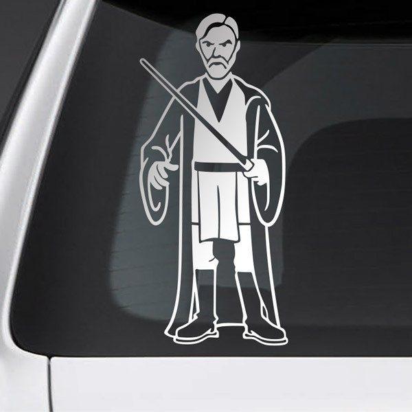 Pegatinas: Padre Obi Wan Kenobi