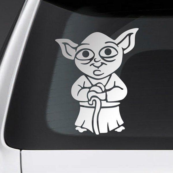 Pegatinas: Niño hijo Yoda