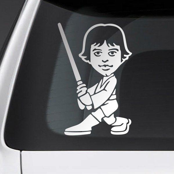 Pegatinas: Niño hijo Luke Skywalker