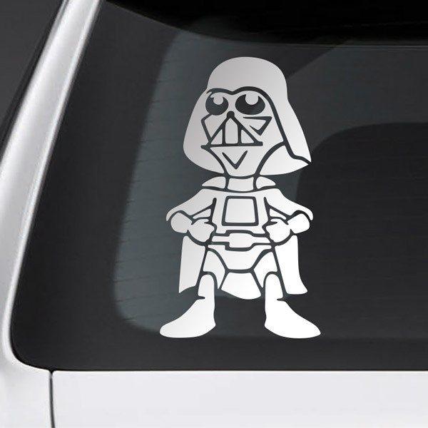 Pegatinas: Niño hijo Darth Vader