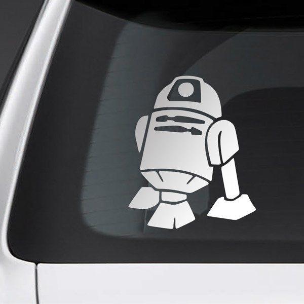 Pegatinas: Mascota R2-D2