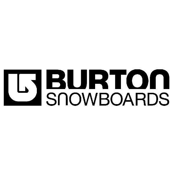Pegatinas: Burton Snowboards