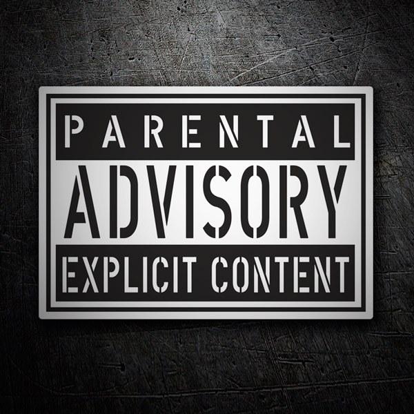 Pegatinas: Parental Advisory Explicit Content