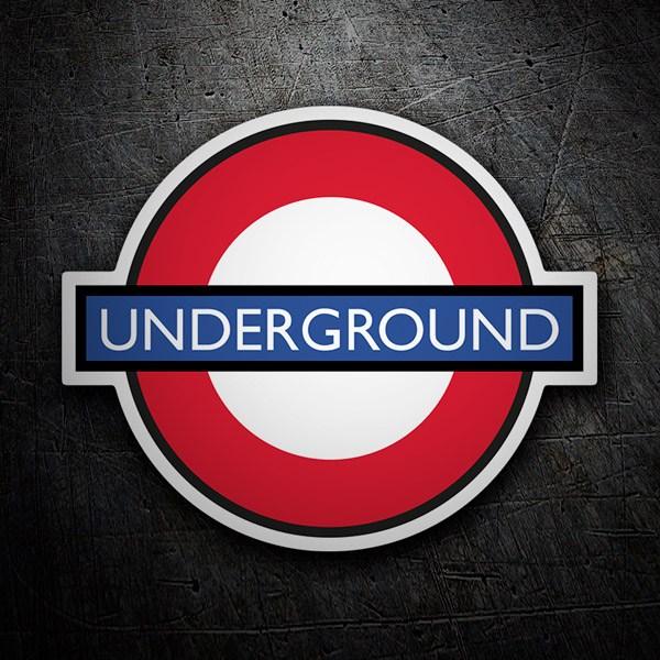 Pegatinas: Underground