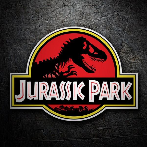 Pegatinas: Jurassic Park (Parque Jurásico)
