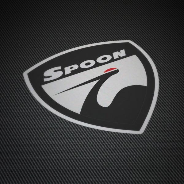 Pegatinas: Emblema Spoon