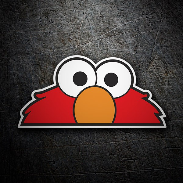 Pegatinas: Elmo