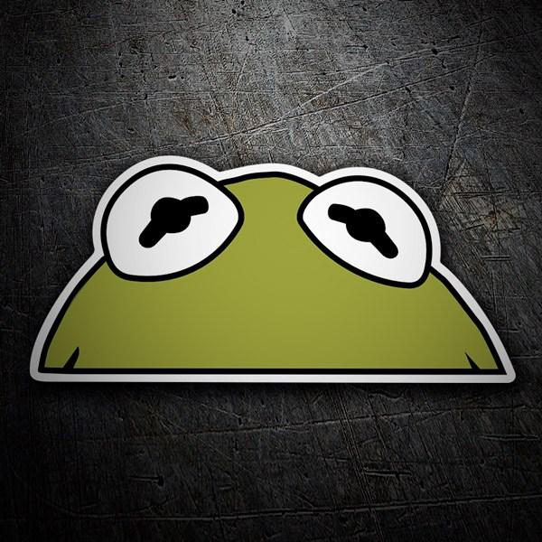 Pegatinas: La rana Gustavo