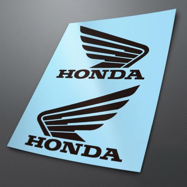 Pegatinas: Kit Alas Honda depósito