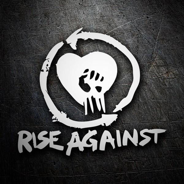 Pegatinas: Rise Against