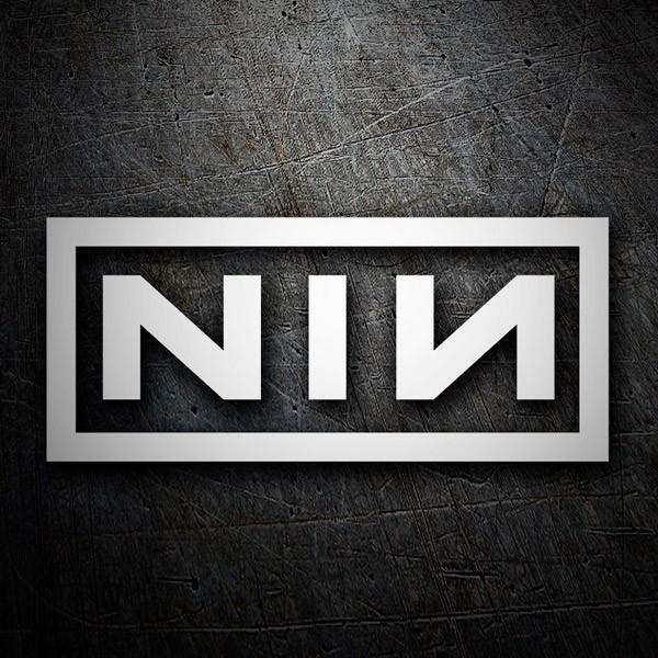 Pegatinas: Nine Inch Nails
