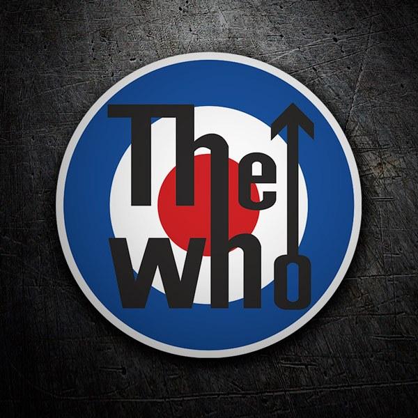Pegatinas: The Who logo