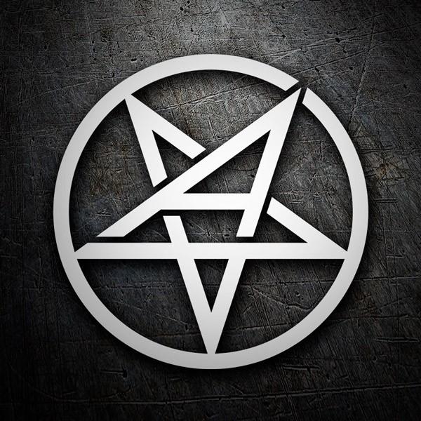 Pegatinas: Anthrax logo