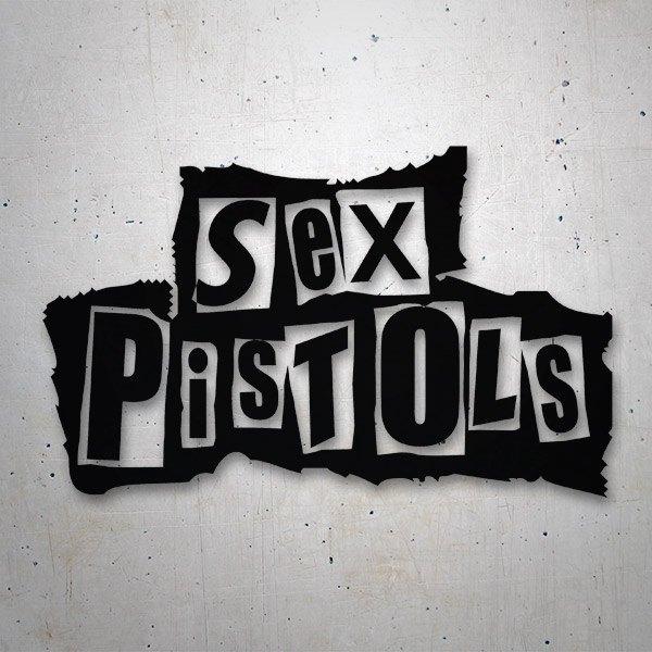 Pegatinas: Sex Pistols
