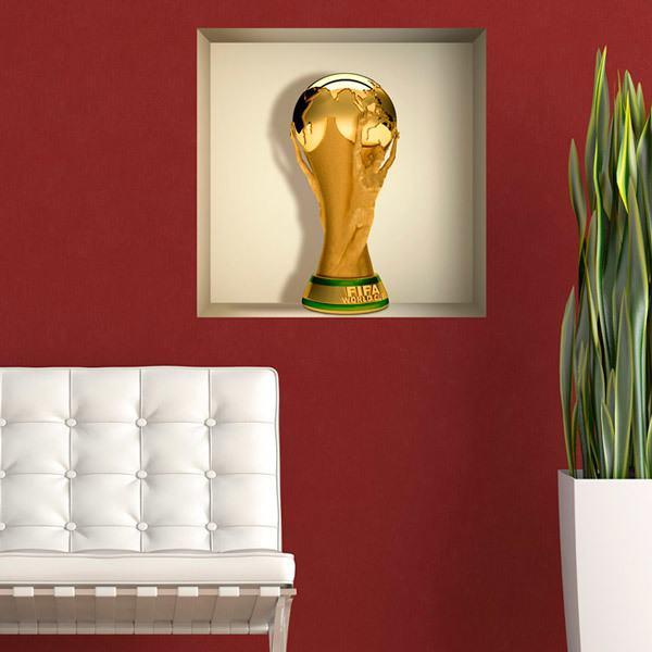 Vinilos Decorativos: Nicho Copa del Mundial de Fútbol