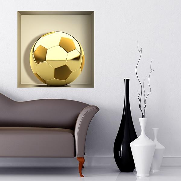 Vinilos Decorativos: Nicho Balón de Oro
