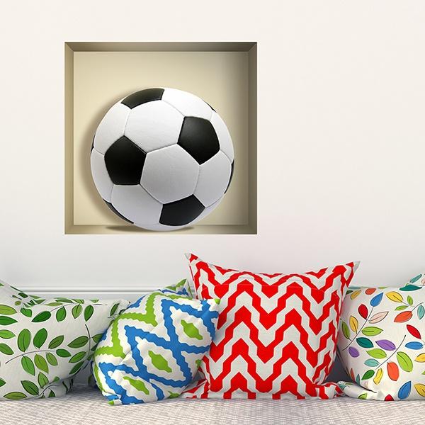 Vinilos Decorativos: Nicho balón de fútbol